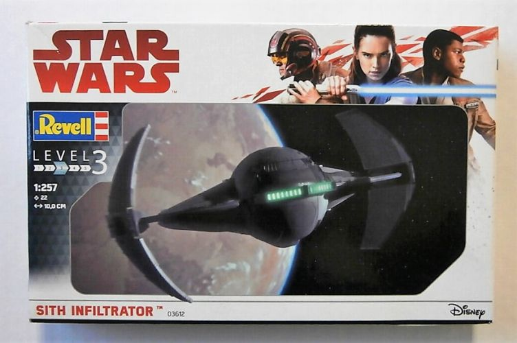 REVELL 1/257 03612 STAR WARS SITH INFILTRATOR