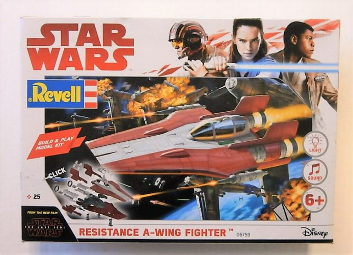 REVELL  06759 STAR WARS RESISTANCE A-WING FIGHTER