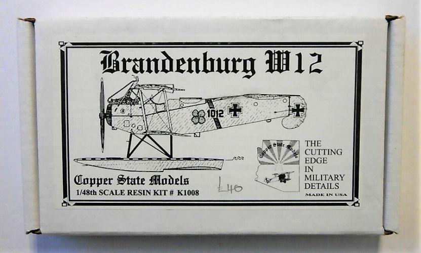 COPPER STATE MODELS 1/48 1008 BRANDENBURG W.12