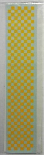 MICROSCALE 1/4 INCH 2671. 1/4 INCH CHECKERS - YELLOW