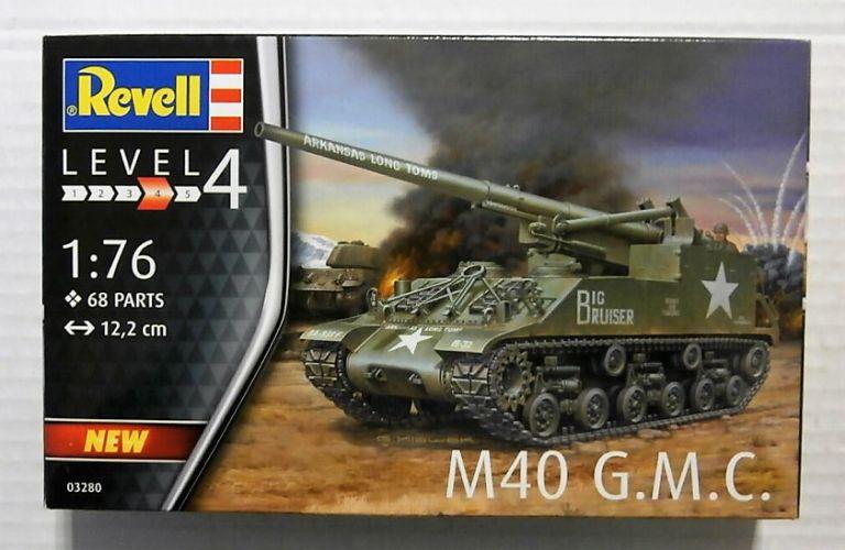 REVELL 1/76 03280 M40 G.M.C.
