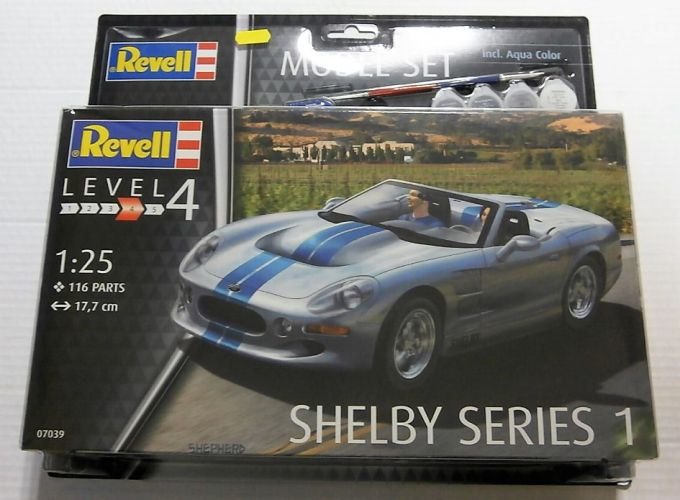 REVELL 1/25 67039 SHELBY SERIES 1  MODEL SET