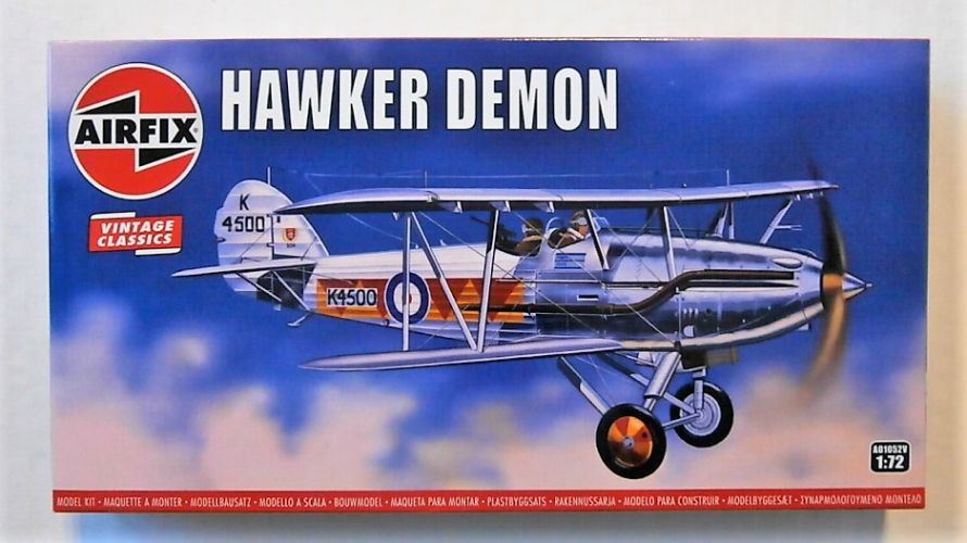AIRFIX 1/72 A01052V VINTAGE CLASSICS - HAWKER DEMON