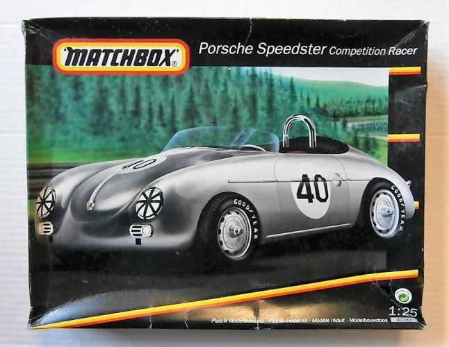 MATCHBOX 1/25 40383 PORSCHE SPEEDSTER COMPETITION RACER