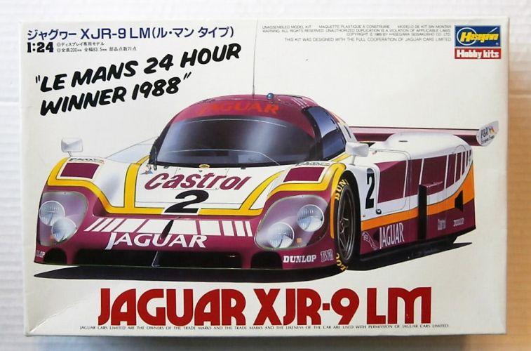 HASEGAWA 1/24 CC-8 JAGUAR XJR-9 LM
