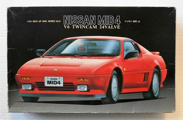 FUJIMI 1/24 ID-6 NISSAN MID 4 V6 TWINCAM 24 VALVE
