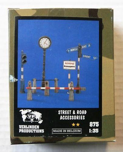 VERLINDEN PRODUCTIONS 1/35 875 STREET   ROAD ACCESSORIES