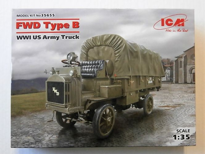 ICM 1/35 35655 FWD TYPE B WWI U.S. ARMY TRUCK