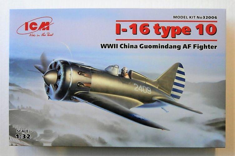 ICM 1/32 32006 POLIKARPOV I-16 TYPE 10 WWII