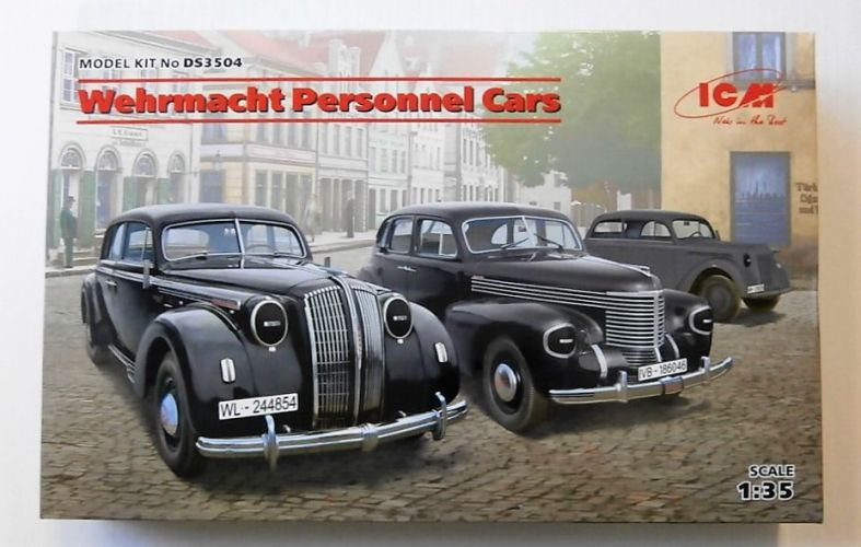 ICM 1/35 DS3504 WEHRMACHT PERSONNEL CARS