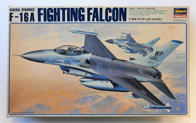 HASEGAWA 1/32 S26 GENERAL DYNAMICS F-16A FIGHTING FALCON  UK SALE ONLY