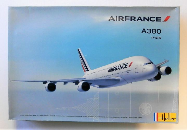 HELLER 1/125 80436 AIR FRANCE A380  UK SALE ONLY