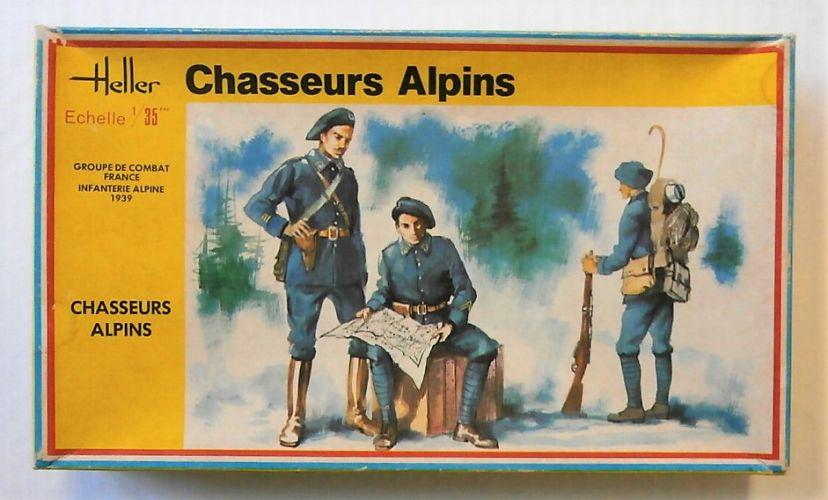 HELLER 1/35 136 CHASSEURS ALPINS