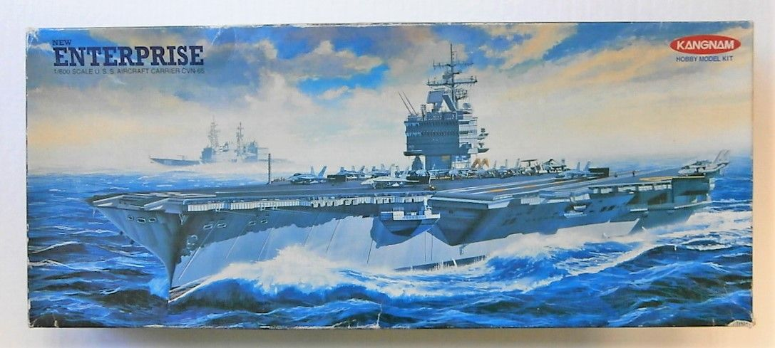 KANGNAM 1/600 7314 CVN-65 U.S.S. ENTERPRISE  UK SALE ONLY