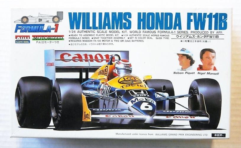 ARII 1/24 A536 WILLIAMS HONDA FW11B