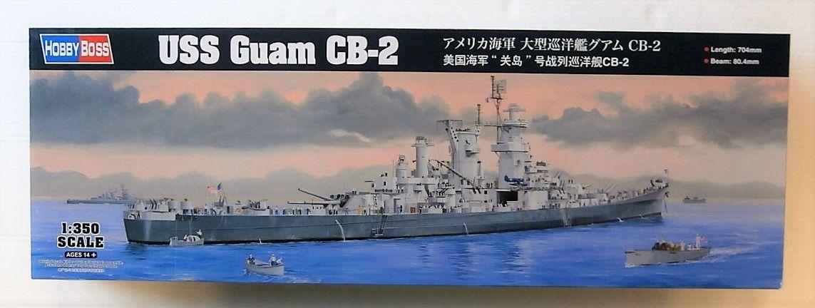 HOBBYBOSS 1/350 86514 USS GUAM CB-2  UK SALE ONLY