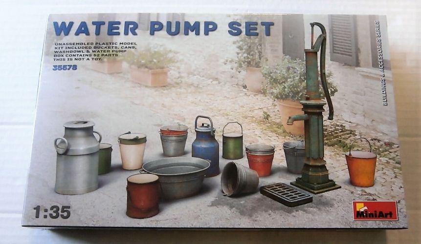 MINIART 1/35 35578 WATER PUMP SET