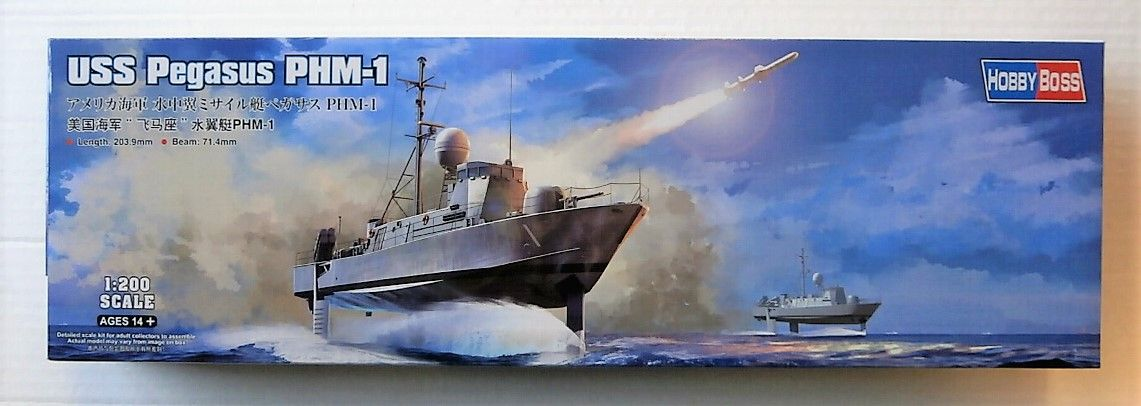 HOBBYBOSS 1/200 82005 USS PEGASUS PHM-1