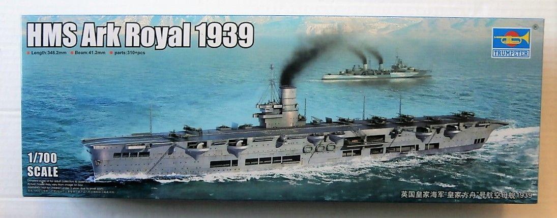 TRUMPETER 1/700 06713 HMS ARK ROYAL 1939