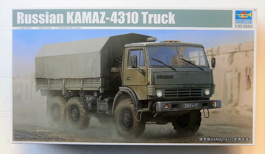 TRUMPETER 1/35 01034 RUSSIAN KAMAZ-4310 TRUCK