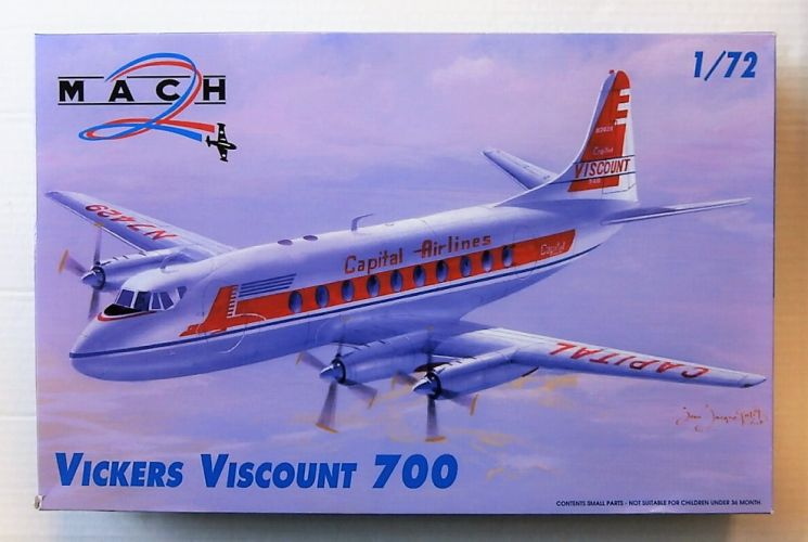 MACH 1/72 046 VICKERS VISCOUNT 700