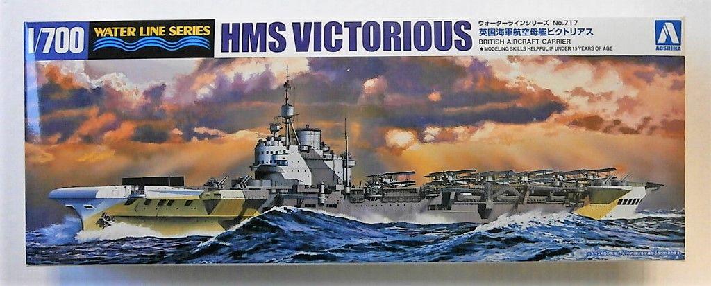 AOSHIMA 1/700 051061 HMS VICTORIOUS