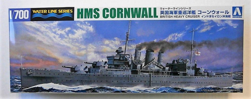 AOSHIMA 1/700 056721 HMS CORNWALL