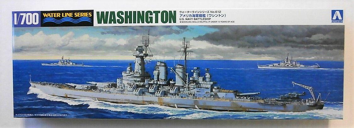AOSHIMA 1/700 046012 USS WASHINGTON