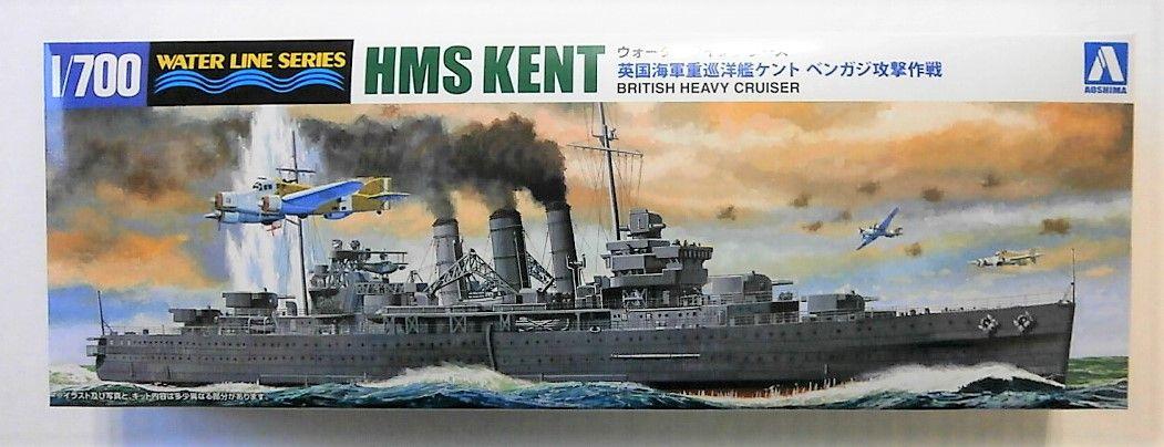 AOSHIMA 1/700 056714 HMS KENT