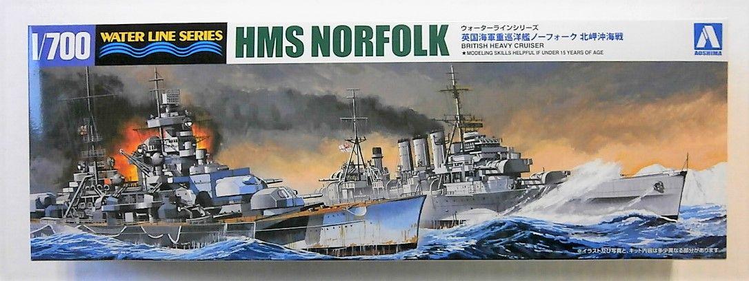 AOSHIMA 1/700 056691 HMS NORFOLK