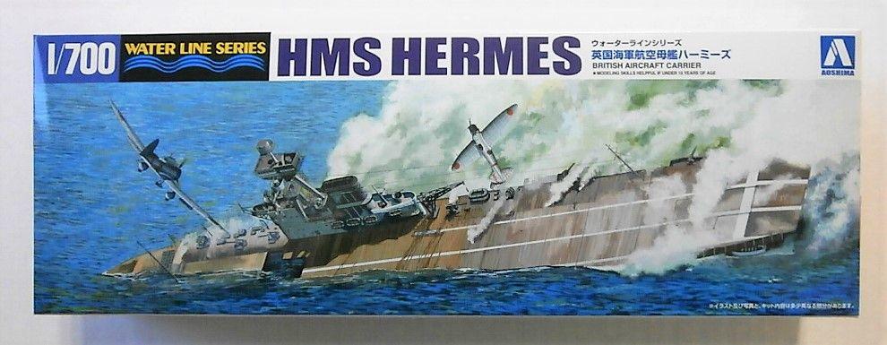 AOSHIMA 1/700 051009 HMS HERMES