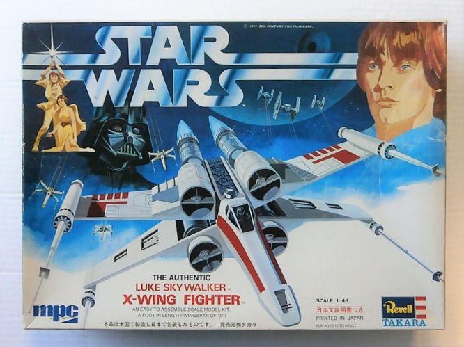 MPC 1/48 861003 STAR WARS LUKE SKYWALKER X-WING FIGHTER