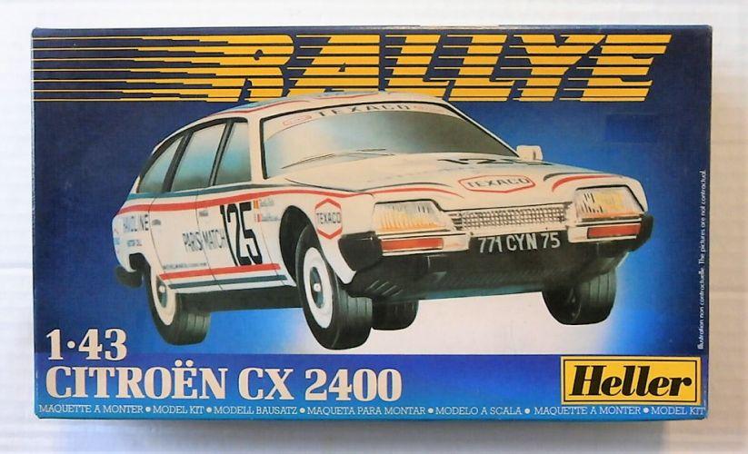 HELLER 1/43 80164 CITROEN CX 2400