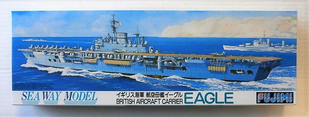 FUJIMI 1/700 44124 BRITISH AIRCRAFT CARRIER EAGLE