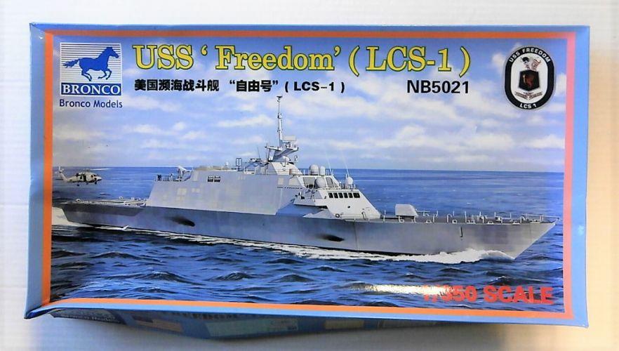 BRONCO 1/350 5021 USS FREEDOM  LCS-1