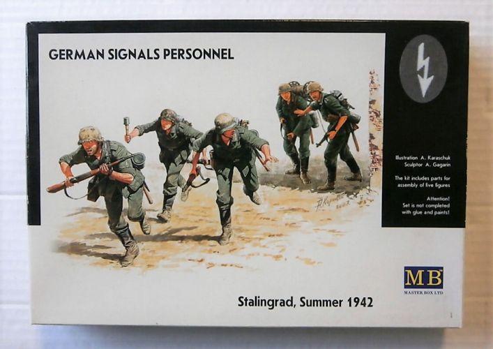 MASTERBOX 1/35 3540 GERMAN SIGNALS PERSONNEL STALINGRAD SUMMER 1942