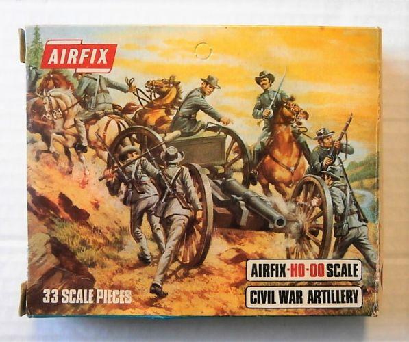 AIRFIX HO/OO S14 AMERICAN CIVIL WAR ARTILLERY