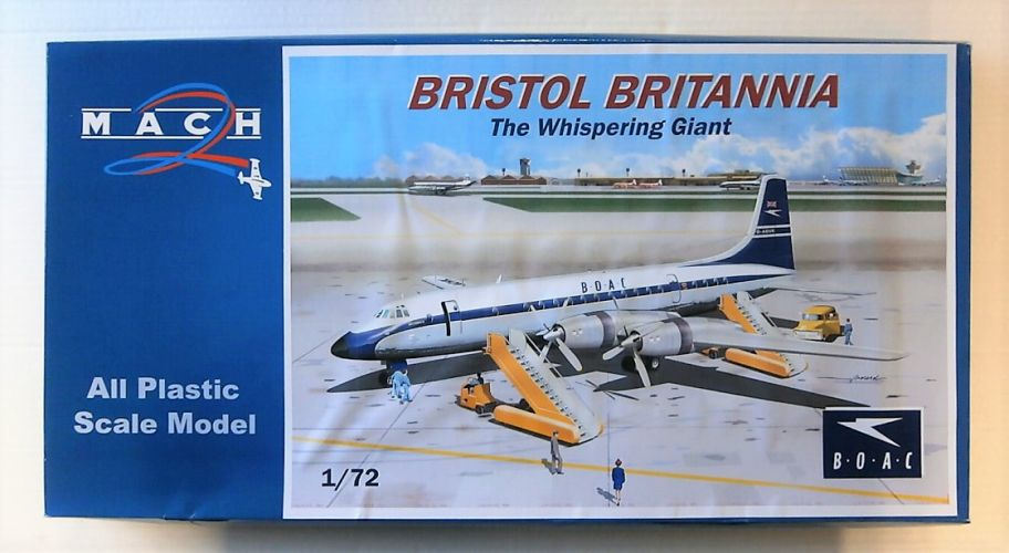 MACH 1/72 086 BOAC BRISTOL BRITANNIA THE WHISPERING GIANT