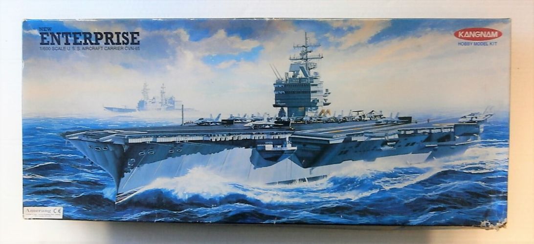 KANGNAM 1/600 022 USS AIRCRAFT CARRIER CVN-65 NEW ENTERPRISE
