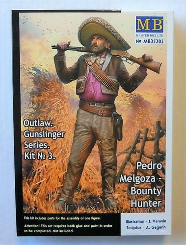 MASTERBOX 1/35 35205 OUTLAW GUNSLINGER SERIES 3 - PEDRO MELGOZA BOUNTY HUNTER