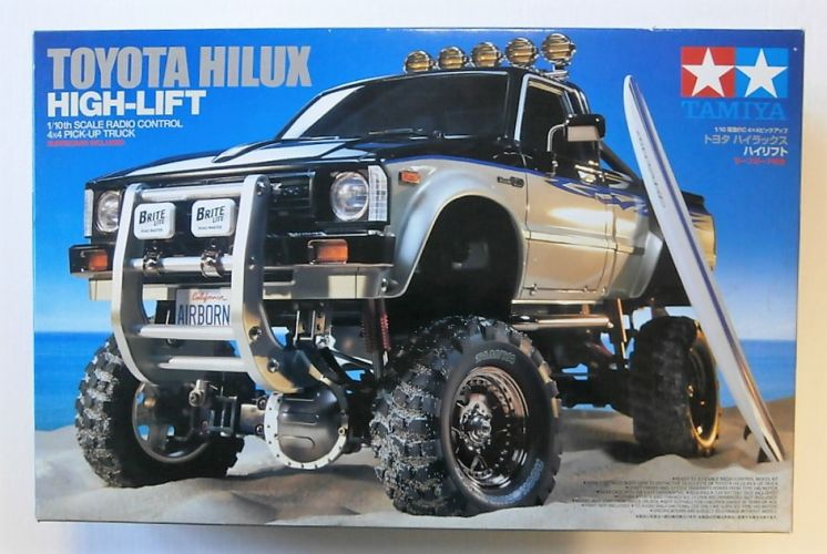 TAMIYA 1/10 58397 RADIO CONTROL TOYOTA HILUX HIGH-LIFT 4X4 PICK-UP TRUCK  UK SALE ONLY
