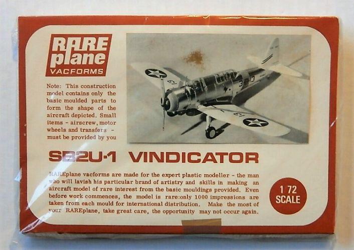 RAREPLANE 1/72 SB2U-1 VINDICATOR