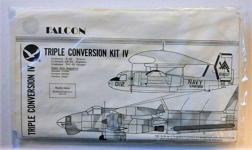 FALCON 1/72 TRIPLE CONVERSION KIT IV