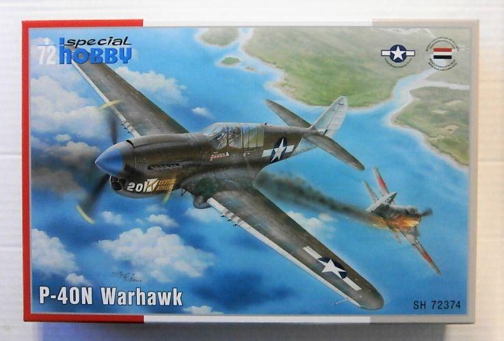 SPECIAL HOBBY 1/72 72374 P-40N WARHAWK
