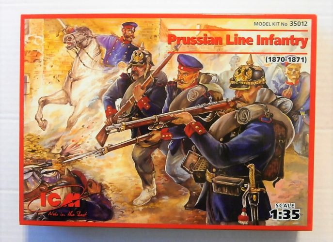 ICM 1/35 35012 PRUSSIAN LINE INFANTRY 1870-71