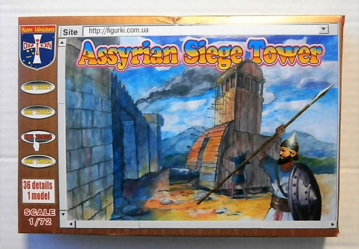ORION 1/72 72023 ASSYRIAN SIEGE TOWER