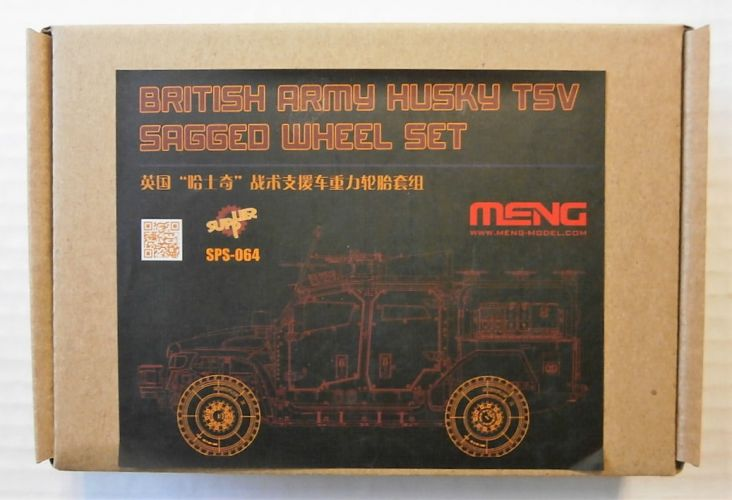 MENG 1/35 SPS-064 BRITISH ARMY HUSKY TSV SAGGED WHEEL SET