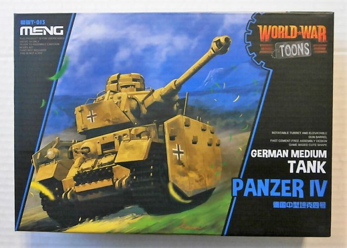MENG  WWT-013 PANZER IV GERMAN MEDIUM TOON TANK