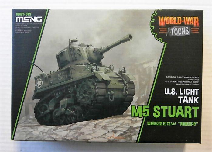 MENG  WWT-012 M5 STUART US LIGHT TOON TANK