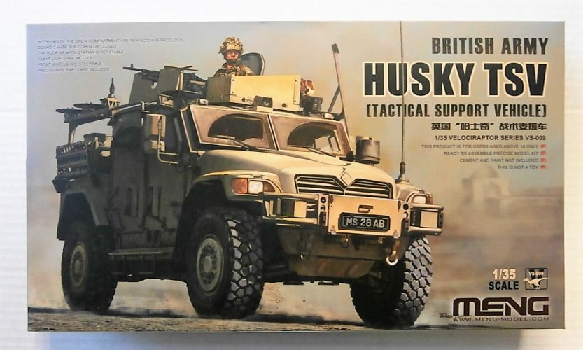 MENG 1/35 VS-009 BRITISH ARMY HUSKY TSV
